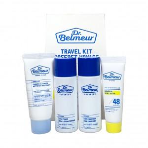 Средства для чувствительной кожи лица набор мини-формата Cica Advanced Travel Kit Dr.Belmeur The Face Shop