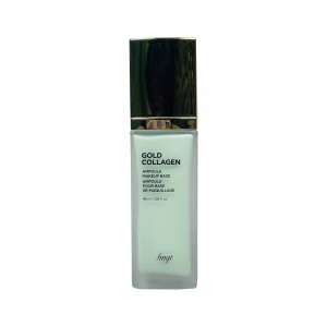 База под макияж Gold Collagen Ampoule Make-Up Base Green SPF 30PA++ The Face Shop
