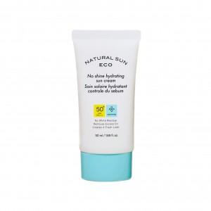 Крем солнцезащитный против жирного блеска Natural Sun Eco No Shine Hydrating Sun Cream SPF50/PA+++ The Face Shop