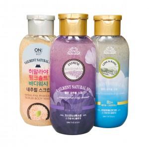 Гель-скраб для душа  Scrub Body Wash Natural Spa Veilment
