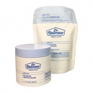 Пилинг-диски для лица (60 шт) Dr.Belmeur Peeling Pad Amino Clear The Face Shop