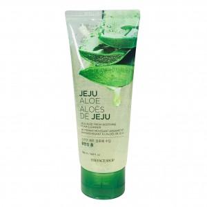 Гель-пена для умывания Jeju Aloe Fresh Soothing Foam Cleanser The Face Shop