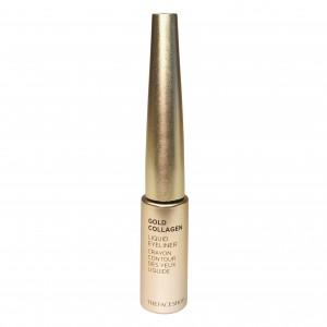 Подводка жидкая для глаз Liquid Eye Liner Gold Collagen The Face Shop