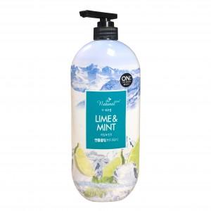 Гель для душа  Lime&Mint Body Wash The Natural Plus