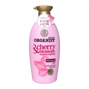 Шампунь для волос Organist Cherry Blossom Shampoo Elastine