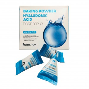 Скраб содовый с гиалуроновой кислотой Baking Powder Hyaluronic Acid Farm Stay