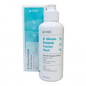 Энзимная пудра для умывания β-Glucan Enzyme Powder Wash Petitfee