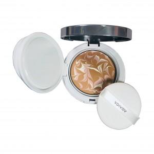 Компактный тональный крем Silk Wear Ampoule Essence Pack SPF50+/PA+++ VDIVOV