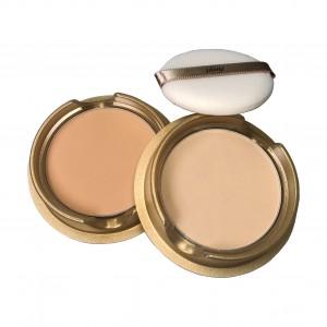 Компактная пудра с коллагеном запасной блок Gold Collagen Ampoule Two-Way Pact SPF 40/PA++ The Face Shop
