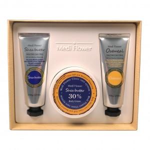 Набор уходовых средств для рук Shea Butter&Oatmeal Body Care Set Medi Flower