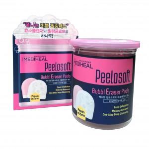 Пилинг-пэд для лица Peelosoft Bubbleraser Pads Mediheal