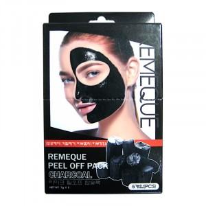 Маска-пленка угольная для лица Peel Of Pack Charcoal Remeque
