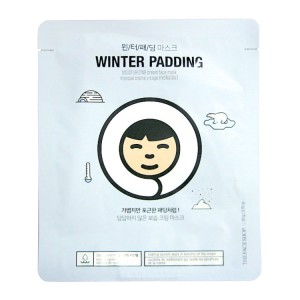 Маска-салфетка для лица Winter Padding Moisturizing Cream Face Mask The Face Shop