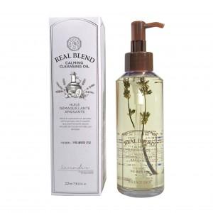 Гидрофильное масло для чувствительной кожи Real Blend Calming Cleansing Oil The Face Shop