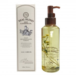 Гидрофильное масло Real Blend Deep Cleansing Oil The Face Shop
