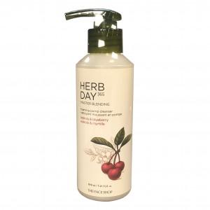 Пенка для умывания Master Blending Foaming Pump Cleanser Acerola&Blueberry Herb Day 365 The Face Shop