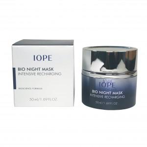 Маска интенсивная ночная для лица Bio Night Mask Intensive Recharging Iope