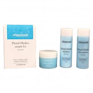 Набор для лица увлажняющий мини-версия Floral Hydro Kit Mamonde