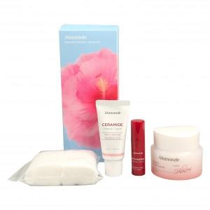 Набор средств для лица с керамидами  Ceramide Intense Cream Set  Mamonde