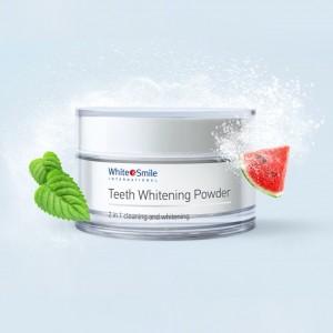Пудра для отбеливания зубов (1-2 тона, арбуз) White Smile