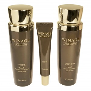 Набор для лица антивозрастной отбеливающий Premium Winage Set Coreana