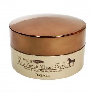 Крем для лица питательный Horse Enrich All Care Cream Deoproce