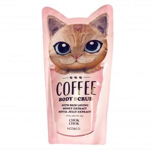 Скраб для тела кофейный  Coffee Body Scrub Chok Chok