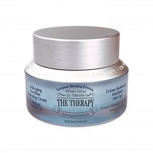 Крем для лица анти-возрастной увлажняющий The Therapy Anti-Aging No Shine Hydration Formula Cream The Face Shop