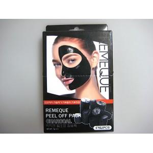 Маска-пленка угольная  Peel Of Pack Charcoal  Remeque