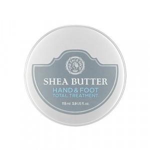 Интенсивный крем для рук и ног Shea Butter Hand&Foot Total Treatment The Face Shop