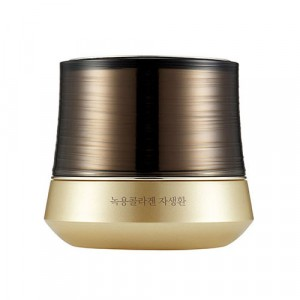 Крем для лица антивозрастной Yehwadam Nokyong Collagen Contour Lift Gold Capsule Cream The Face Shop