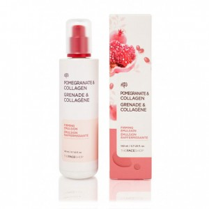 Эмульсия-лифтинг для лица с коллагеном Pomegranate&Collagen Volume Lifting Emulsion The Face Shop