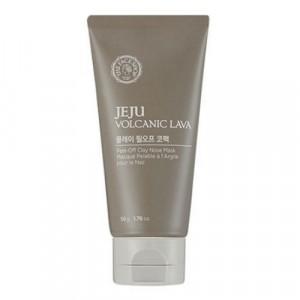 Маска-пленка очищающая для лица Jeju Volcanic Lava Peel Off Clay Nose Mask The Face Shop
