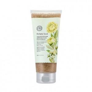 Скраб для тела (туба) Parfume Seed White Peony Body Scrub The Face Shop
