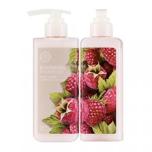 Молочко для тела Raspberry Body Lotion The Face Shop
