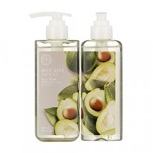 Гель для душа Avocado Body Wash The Face Shop