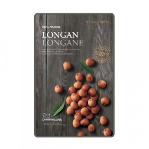 Маска для лица Real Nature Mask Longan The Face Shop