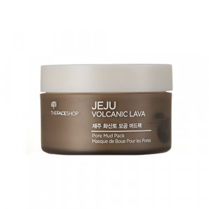 Маска очищающая для лица Jeju Volcanic Lava Pore Mud Pack The Face Shop