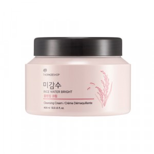 Очищающий крем для лица на основе рисовой воды Rice Water Bright Cleansing Cream TheFaceShop