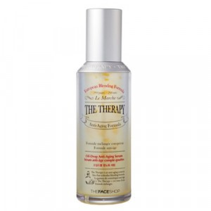 Сыворотка антивозрастная на масляной основе The Therapy Oil-Drop Anti-Aging Serum The Face Shop