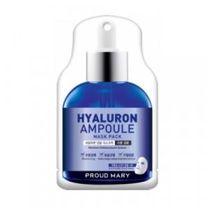 Маска ампульная Hyaluron Ampoule Mask Pack Proud Mary