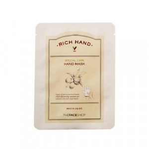 Маска для рук Rich Hand V Special Mask The Face Shop
