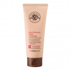 Средство для умывания. Achne Solution Foam Cleancer The Face Shop