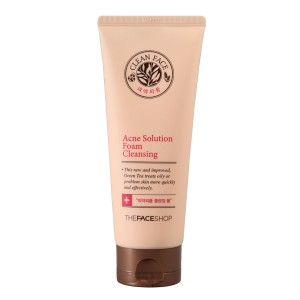 Пенка для умывания Achne Solution Foam Cleancer The Face Shop