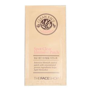 Интенсивные пластыри для лечения воспаления кожи лица Spot Clear Intensive Patch The Face Shop