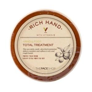 Интенсивный уход за кожей рук и ног Hands & Foot Total Treatmant The Face Shop